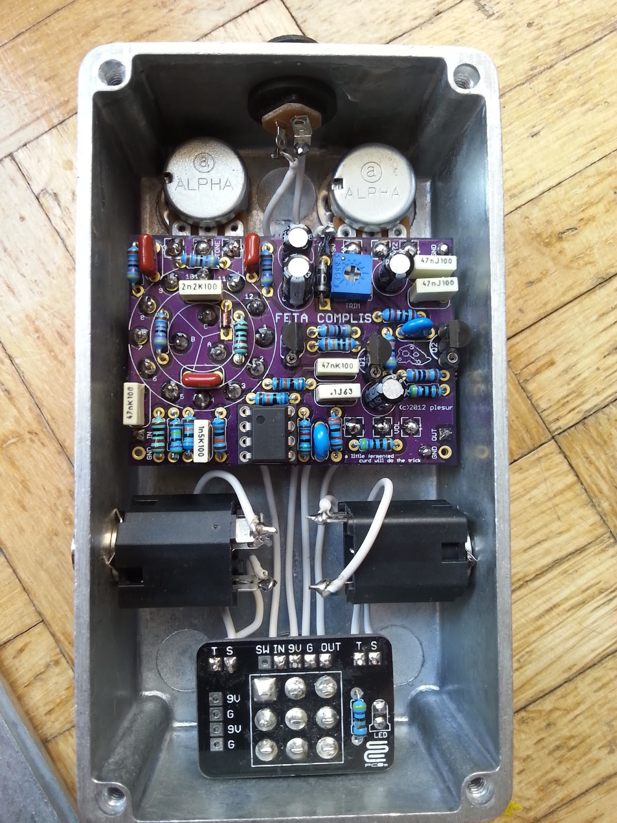 fuzz face schematic html with Big Cheese Fuzz on Pedal Wiring Diagram as well Ecc83 Tube Schematic together with Ibanez Tube Screamer Ts808  pact Mini in addition Fulltone 69 together with Dc Jack Wiring.