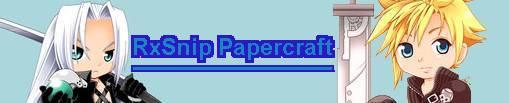 RxSnip Papercraft
