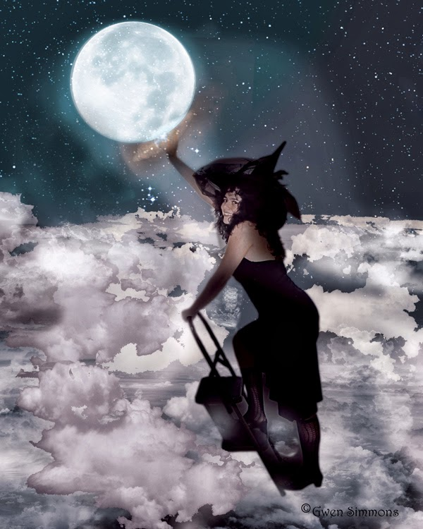 Witching Moon digital art