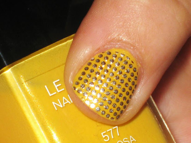 lacquered mom bling nail appliques