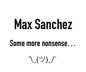 Max Sanchez