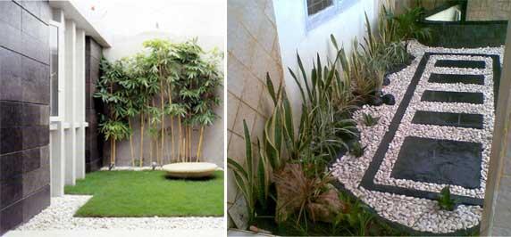 desain gambar taman rumah minimalis cantik dan sejuk