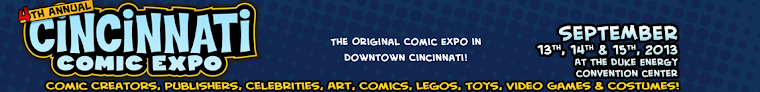COMING__THE 4th ANNUAL CINCINNATI COMIC EXPO!