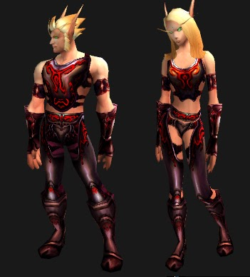 If you want to look like you are wearing plate then this is the set to do it with. There is actually a plate set with these same graphics. & Nesca\u0027s Nook: :: WoW Mail Transmog ::