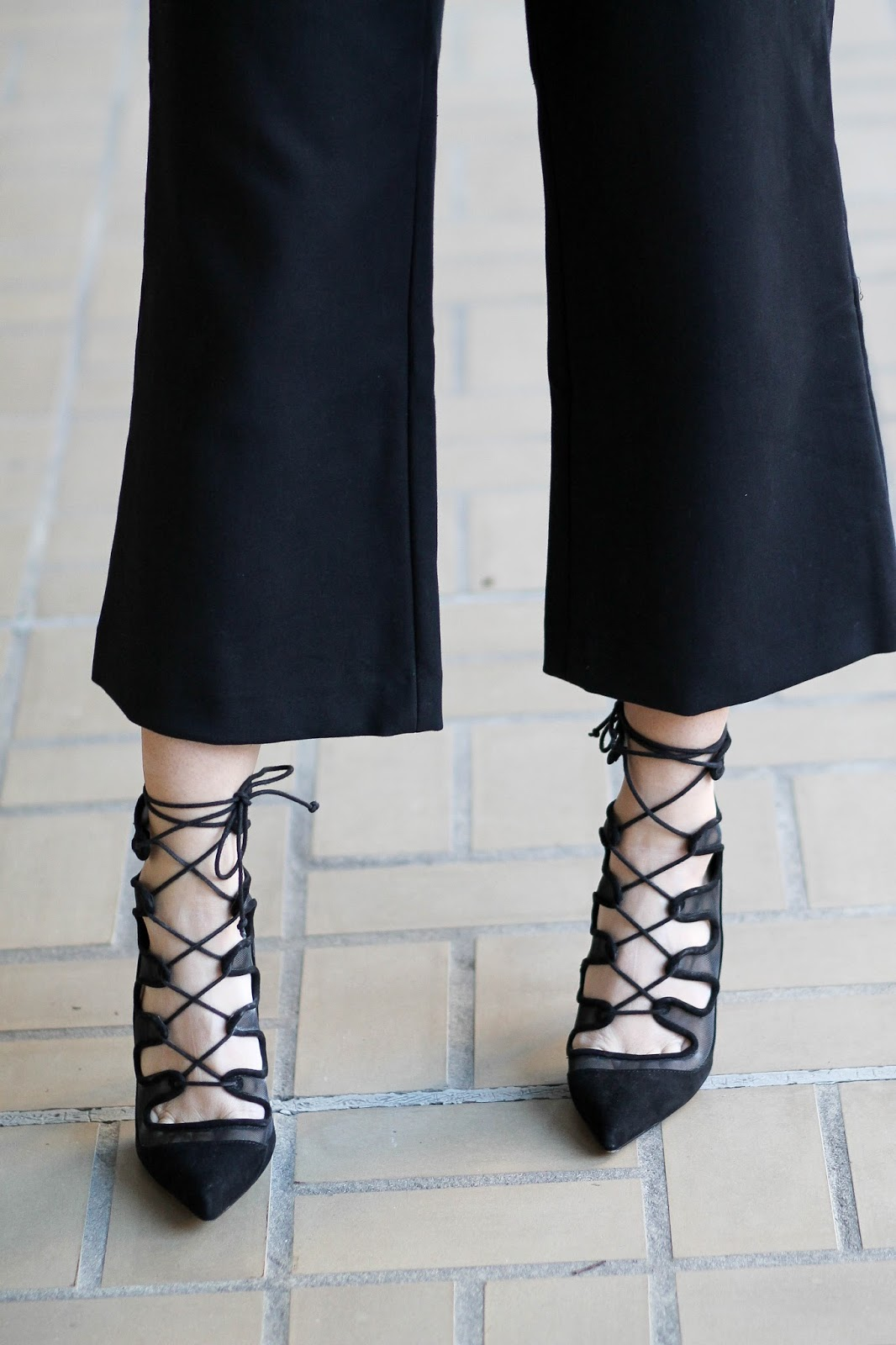 zara lace up heels, dressed4dreams
