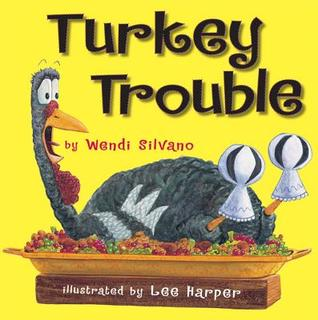 Turkey Trouble by Wendi Silvano gets 5 stars in book review.  Great picture book with a great and funny story and fabulous pictures.  Teachers can easily teach a compare/contrast lesson using a venn diagram using this book/class read aloud.  Perfect Thanksgiving/Holiday book. Alohamora Open a Book http://alohamoraopenabook.blogspot.com/