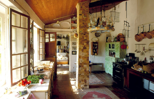 Bohemian Kitchen Interior