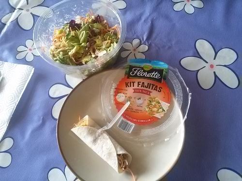 Ensalada Kit Fajitas Florette