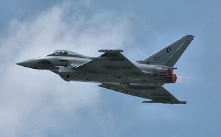 caza europeo el Eurofighter Typhoon