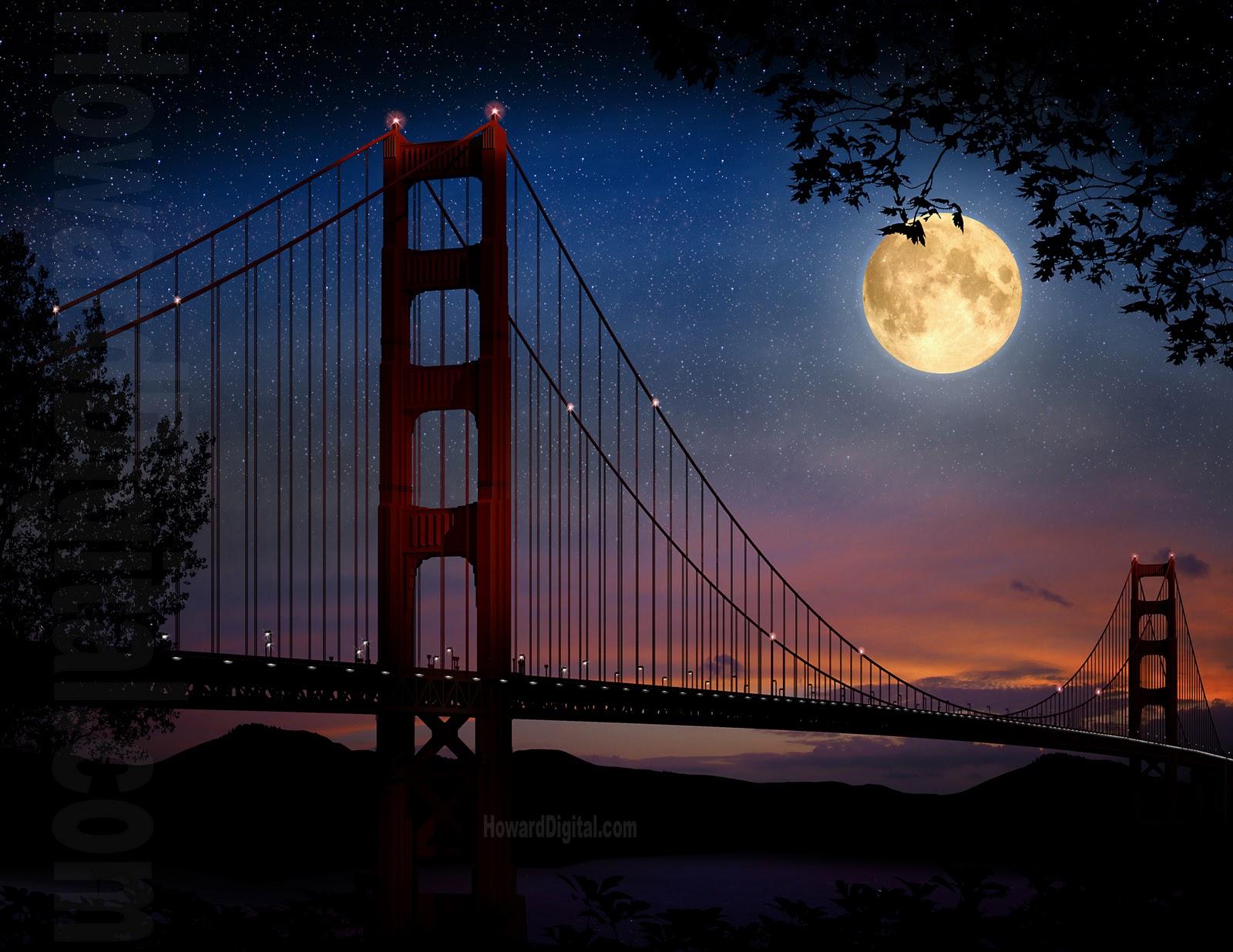 Ather 10 jembatan indah di lihat dari for Golden night
