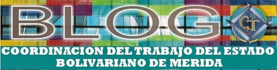 COORDINACION DEL TRABAJO DEL ESTADO BOLIVARIANO DE MERIDA