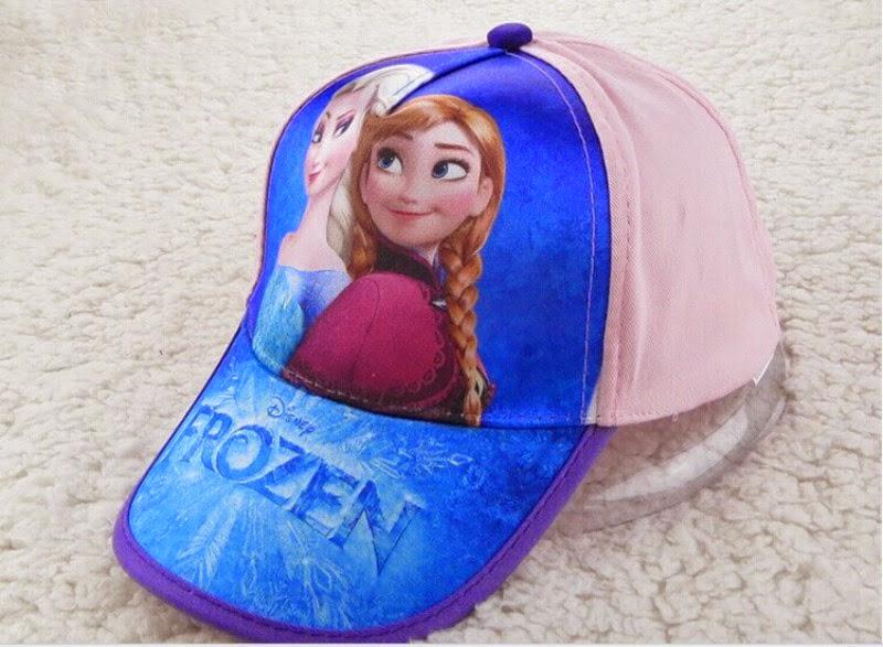 Topi frozen untuk anak