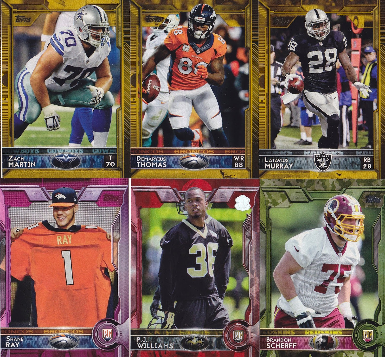 2015 topps football celebrates a rich nfl tradition for Best cards for 2015
