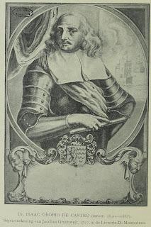 Isaac Orobio de Castro als Spaans edelman is uiteraard een fantasieportret, getekend in  1727 door Jacobus Groenwolt; te vinden in de Livraria-D. Montezinos.