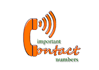 important contact number, phone number, nomor telephon penting