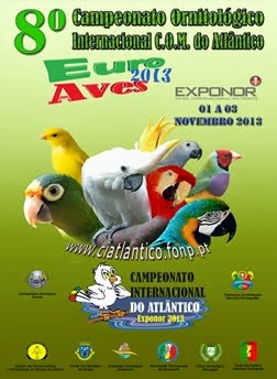 8º Campeonato Ornitológico  Internacional C:O:M: do Atlantico