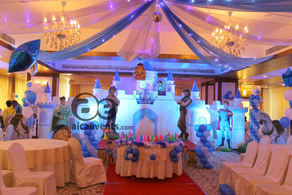 Aicaevents prince theme birthday party decorations for 1st birthday party hall decoration ideas