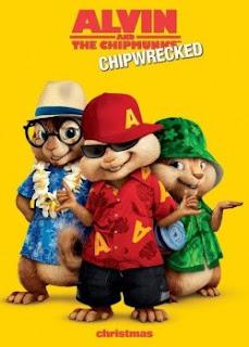 Carátula Alvin y las Ardillas 3 película dvdrip latino