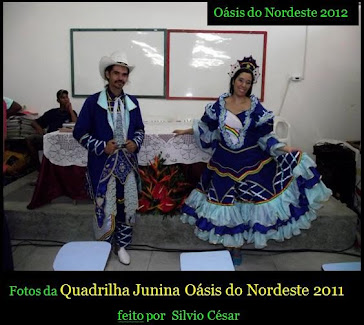 Silvio e Nataly em 2011 na Biblicom em Caetes I no Dia da Consul da Venezuela 2011