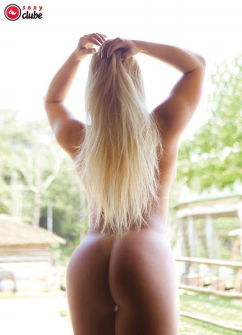Fotos da loira gostosa Juju Bonfim no Sexy Clube pelada
