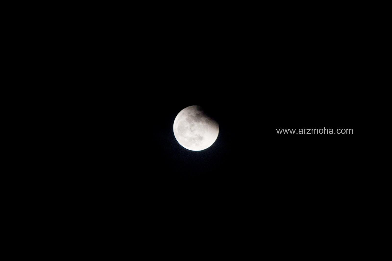 Gerhana Bulan, Eclipse, 8 oktober, 2014, arzmohdhaniffa photography