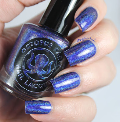 Octopus Party Nail Lacquer Go Deep