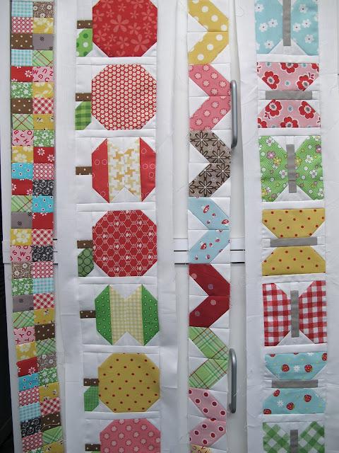 Bee In My Bonnet: The Bee in my Bonnet Row Along - Row 4!!!... : apple quilt block - Adamdwight.com