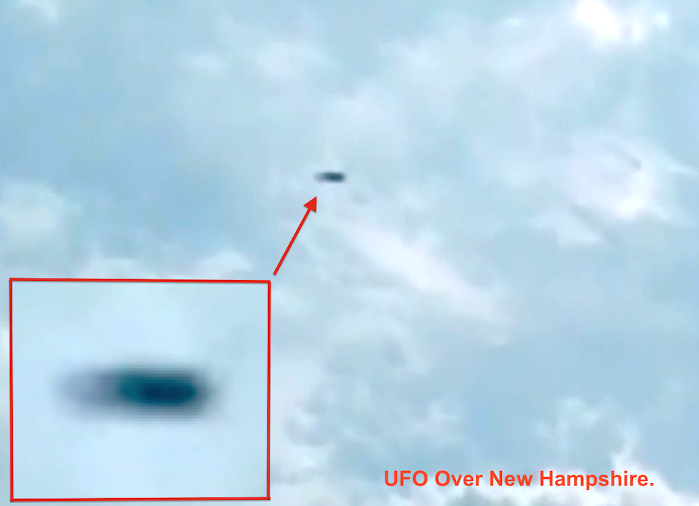 UFO SIGHTINGS DAILY: RC Drone Captures Video Of UFO Shooting ...