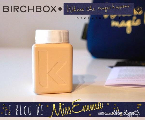Birchbox - Decembre 2014 - Kevin Murphy
