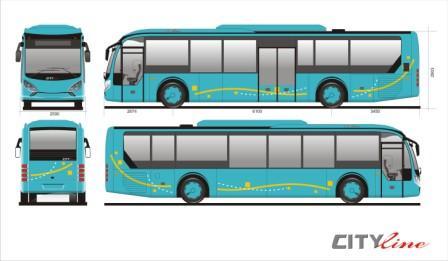 Cityline by Laksana Intercity Bus