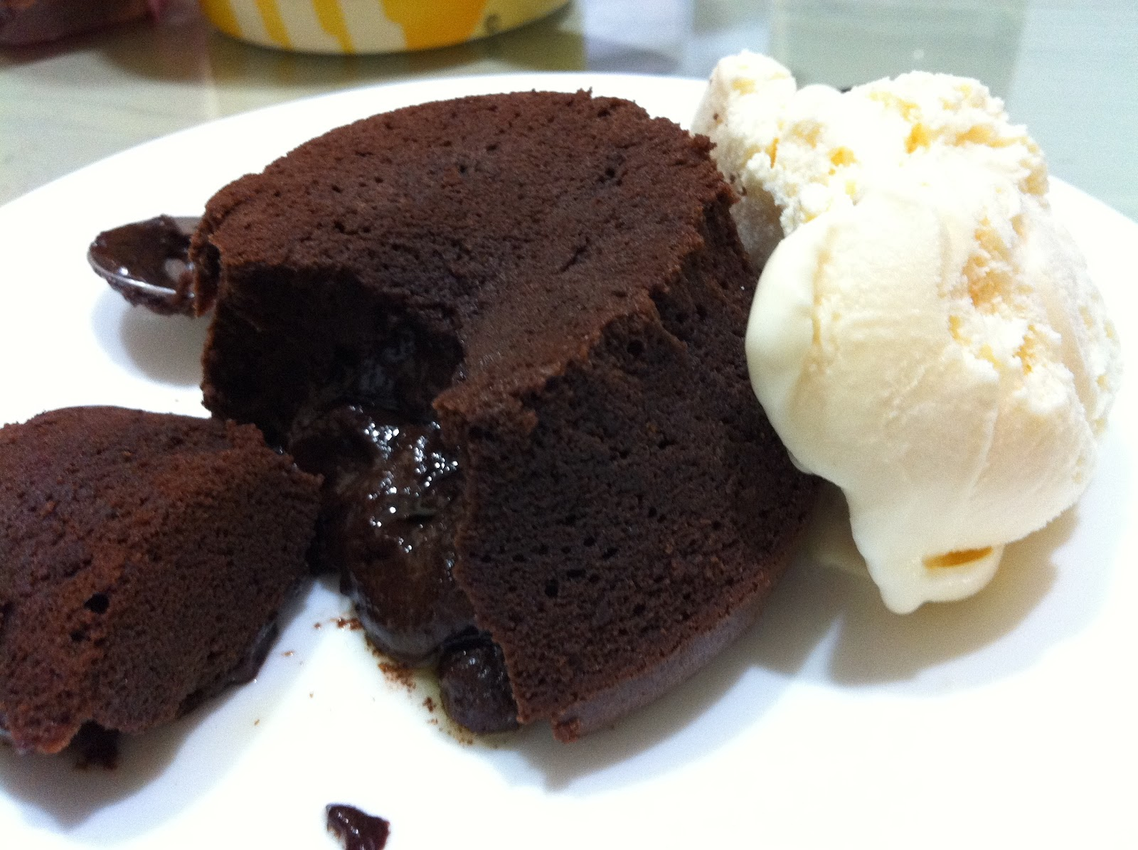 Dessert Chocolate Lava Cake Chocolate Lava Cakes Off
