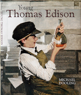 photo of Young Thomas Edison by Michael Dooling, TeachersPayTeachers.com, historical fiction, Common Core,  science, author