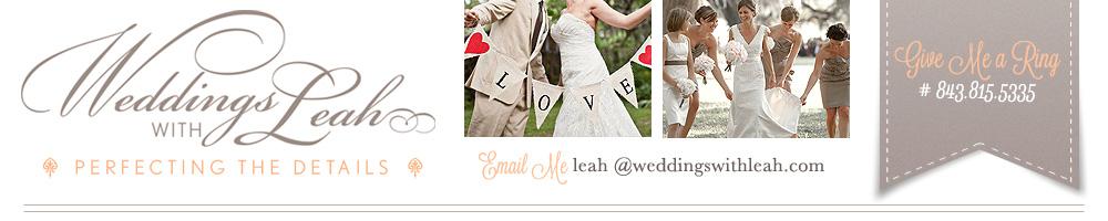 Weddings With Leah