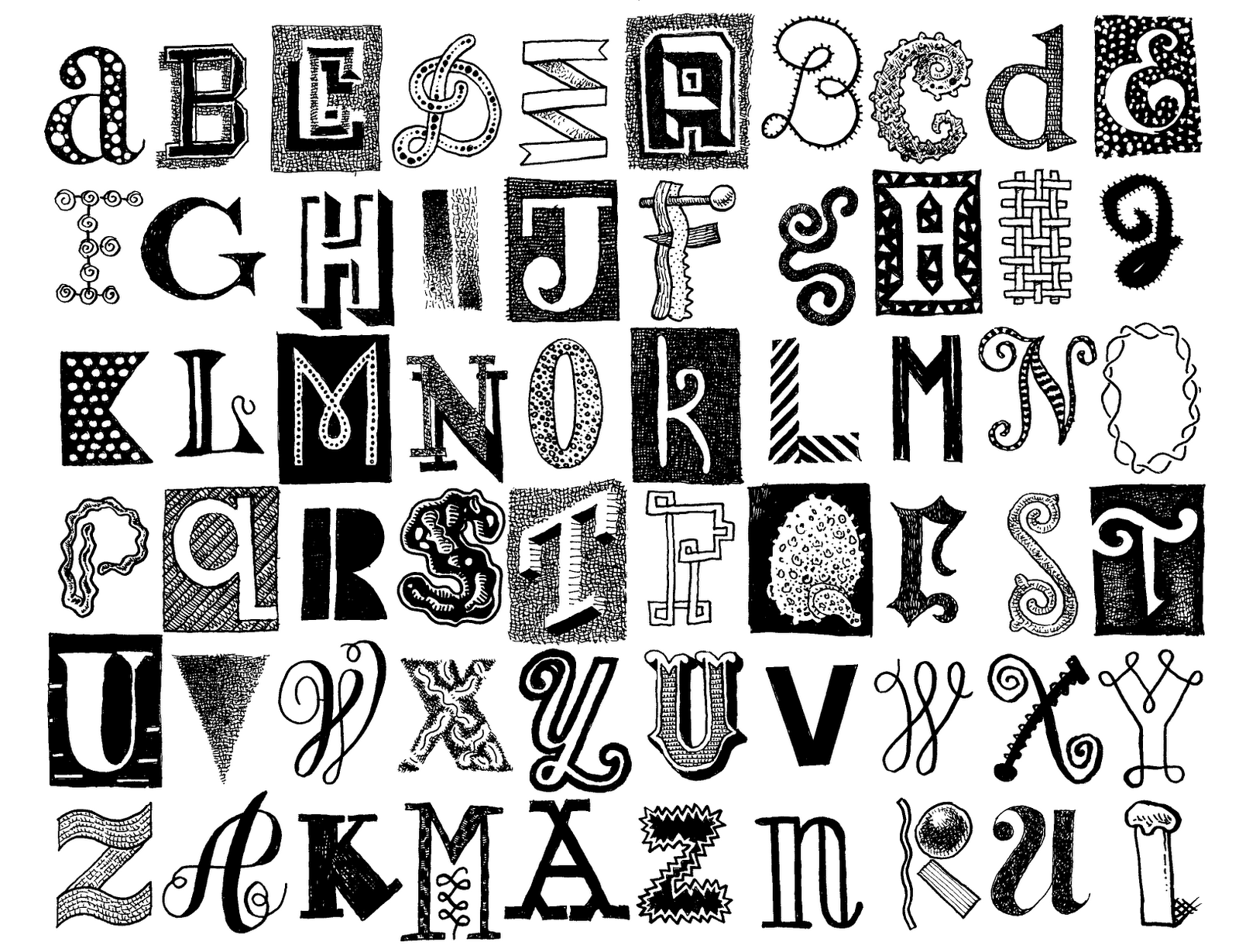 Pretty Alphabet Letters To Draw Letters 100 drawing