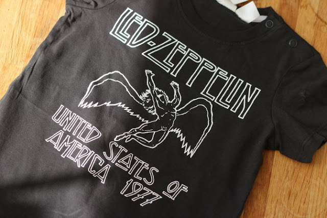 Baby led zepplin t shirt