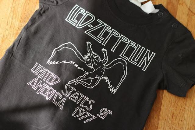 Baby led zepplin t shirt