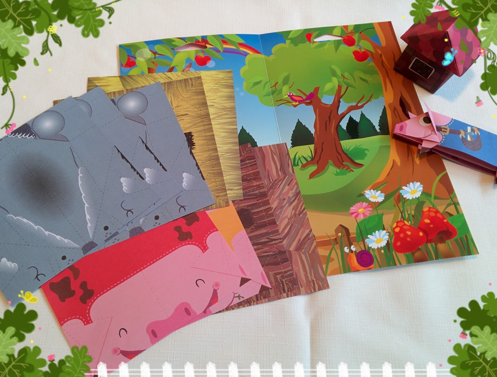 aura treasury kids craft origami paper folding kits