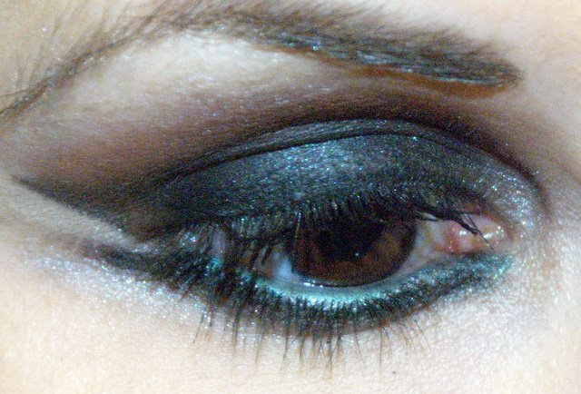 Smokey eyes - šminka