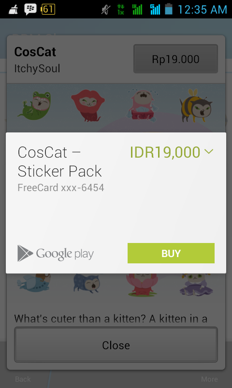 Pembayaran Sticker BBM