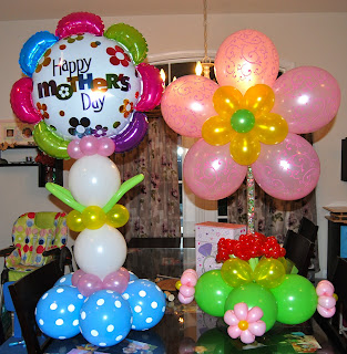 Mother's Day Balloons | Balloon Decor-Twisting & Glitter Tattoos