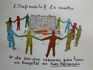¡Hospital de San Carlos para La Isla! Uso civil ¡Ya!
