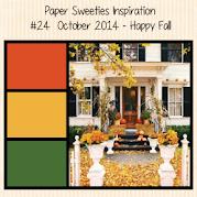 Paper Sweeties October Inspiration Challenge #24
