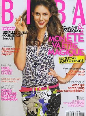 Le magazine BIBA + un foulard Vero Moda pour 3,80 €