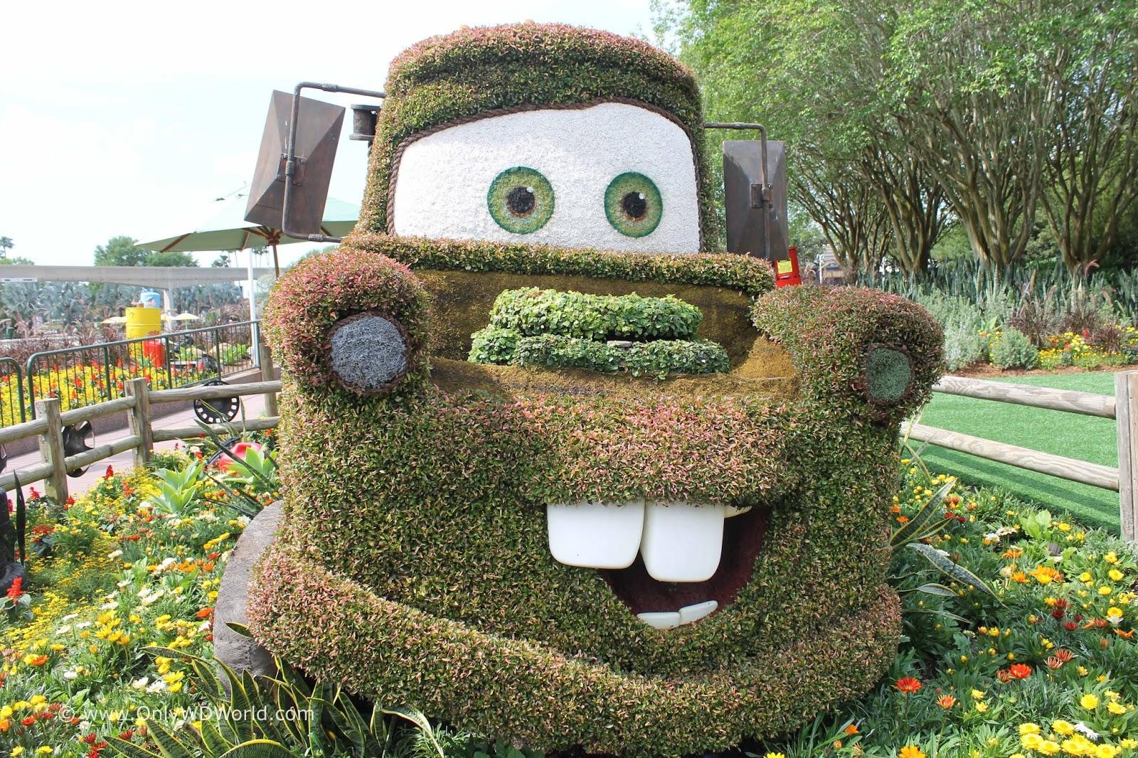 Epcot International Flower & Garden Festival Dates for 2016