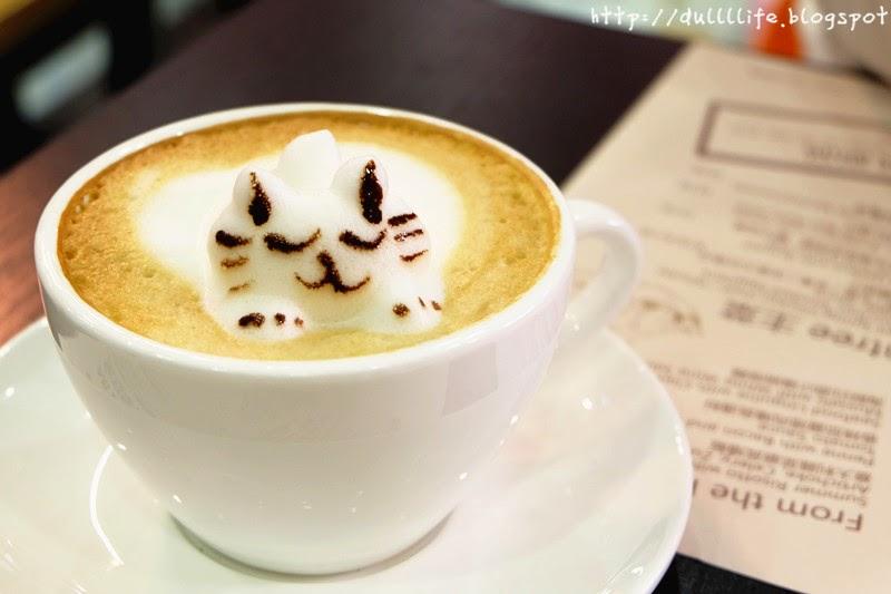 香港 新蒲崗 Mikiki Karena Cafe 3D拉花 咖啡 晚餐 Cappuccino
