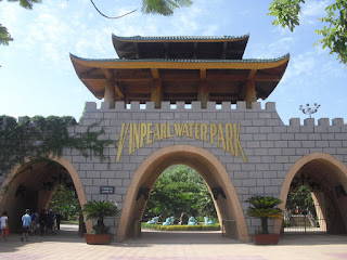 Gate entrance to Vinpearl in Nha Trang