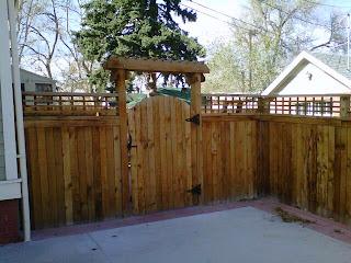 Деревянный забор. Фото 114