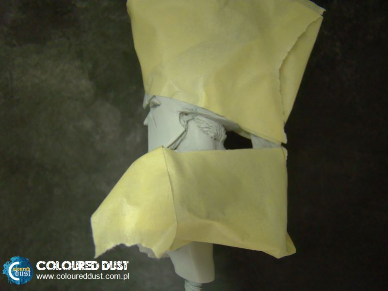 Airbrush - Masking Techniques.