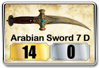arabian sword senjata point blank baru 2013