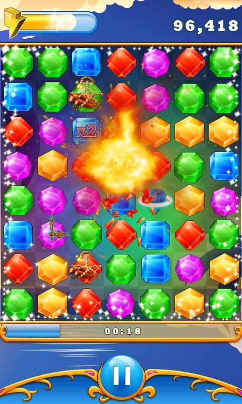 Elmas Patlatma (Diamond Blast) Android Apk Oyunu resimi